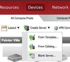 Create Blank Server